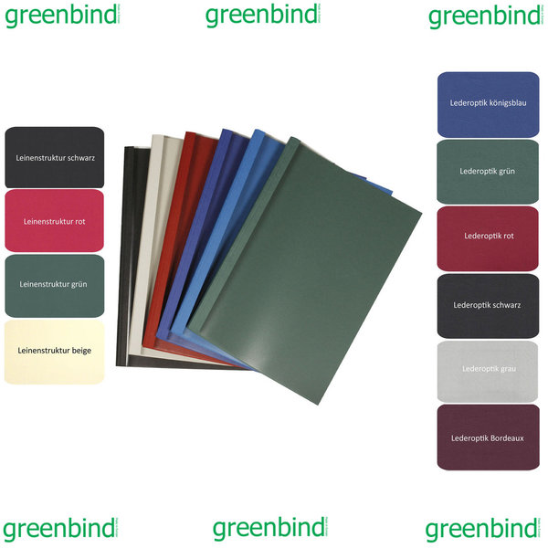 greenbind® EU Thermocover Leather (Made in EUROPE)